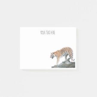 Verärgerter Tiger-personalisierte Post-it Klebezettel