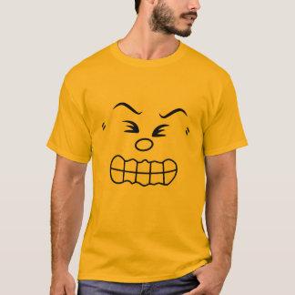 Verärgertes Emoticon-Gruppen-Kostüm T-Shirt