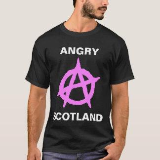 Verärgertes Schottland T-Shirt