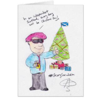 Verärgertes Weihnachten Karte