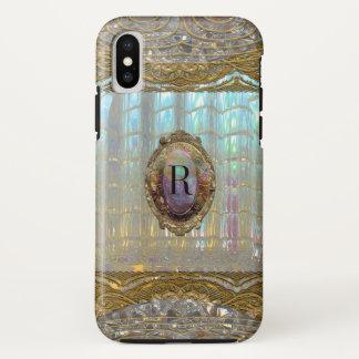 Veraspeece barockes hübsches Monogramm iPhone X Hülle