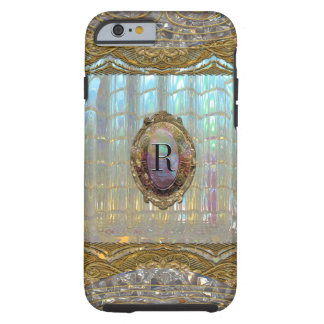 Veraspeece barockes Monogramm 6/6s Tough iPhone 6 Hülle