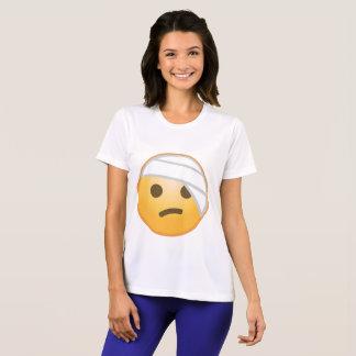 Verband-Gesicht Emoji T-Shirt