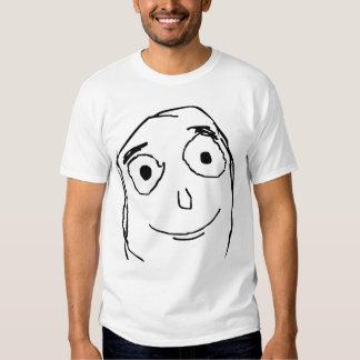 Verbessern Sie als erwartetes Gesicht Hemden