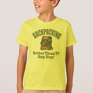Verbessern Sie als Fernsehen - wandernd T-Shirt