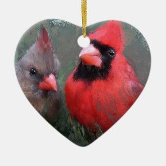 Verbessern Sie bei weitem Keramik Herz-Ornament