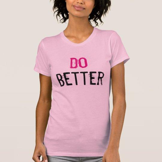 Verbessern Sie T-Shirt
