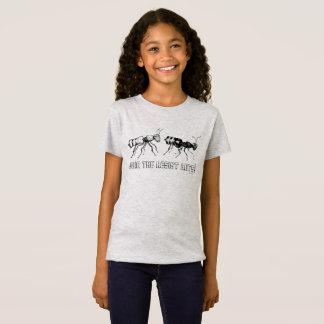 Verbinden Sie die widerstehenameisen! Der T - T-Shirt