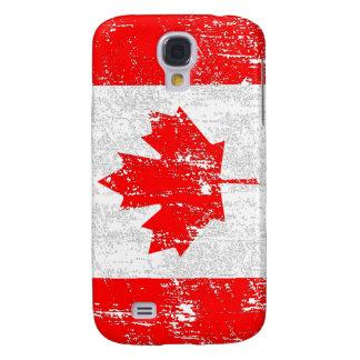 Verblaßte Flagge von Kanada Galaxy S4 Hülle