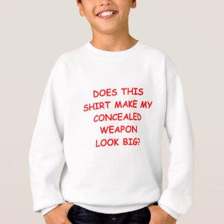 verborgen tragen Sie Sweatshirt