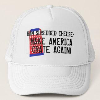 Verbot zerriss KäseAmerika Gitter wieder Trumpf Truckerkappe