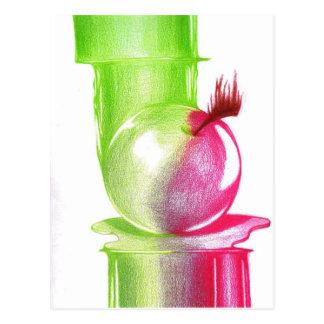 Verbotene Frucht Postkarte