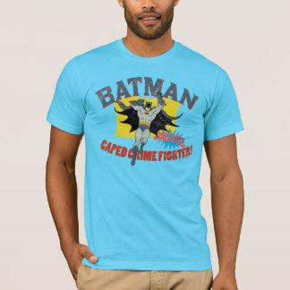 Verbrechen-Kämpfer Batmans Caped T-Shirt