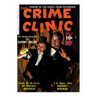 Verbrechen-Klinik #11 - Mörder-Attrappe Postkarte