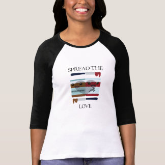 VERBREITEN SIE DAS LIEBE-GLAS T-Shirt