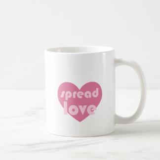Verbreiten Sie die Liebe (allgemein) Kaffeetasse