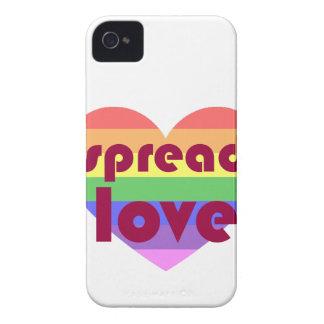Verbreiten Sie homosexuelle Liebe iPhone 4 Hülle