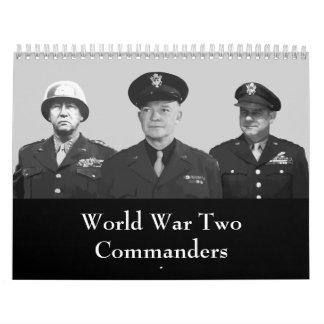 Verbündete Führer von WW2 Abreißkalender