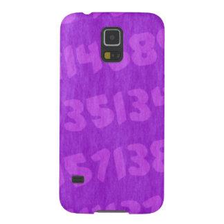 Verdi's background numbers - Purple Samsung Galaxy S5 Cover