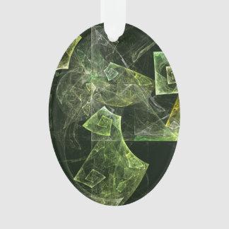 Verdrehte Balancen-abstrakte Kunst-Acryloval Ornament