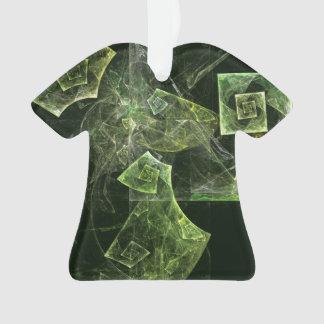 Verdrehte Balancen-abstraktes Kunst-Acryl-Shirt Ornament