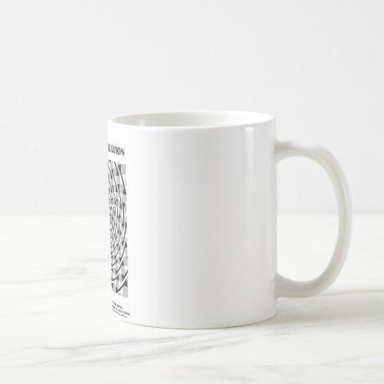 Verdrehte Schnur-Illusion (falsche Spirale) Tasse