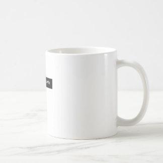 verdrehte Wahrheit Kaffeetasse