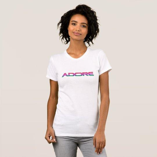 Verehren Sie feinen T - Shirt