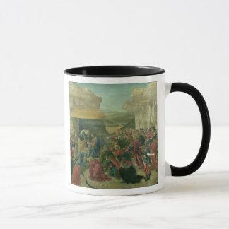 Verehrung der Weisen, c.1480 (Tempera auf Platte) Tasse