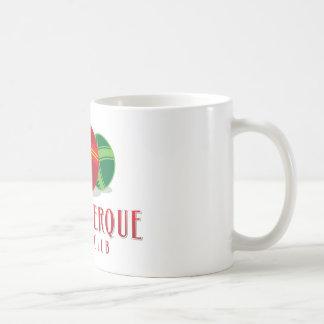 Verein der FarbeABQ Bocce Kaffeetasse