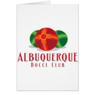 Verein der FarbeABQ Bocce Karte
