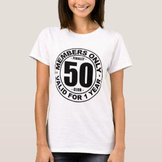 Verein schließlich 50 T-Shirt