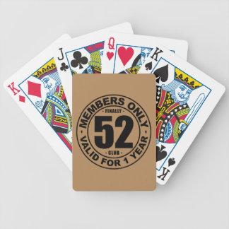 Verein schließlich 52 bicycle spielkarten