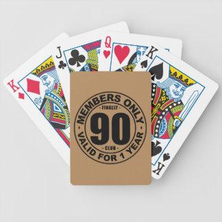 Verein schließlich 90 bicycle spielkarten