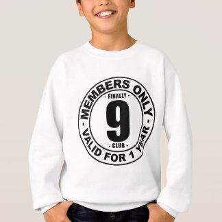 Verein schließlich 9 sweatshirt