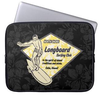 Verein-surfender Diamant-hawaiischer Laptopschutzhülle