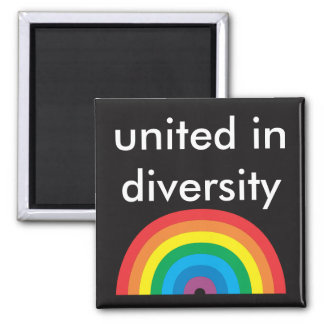vereinigt im Diversity Quadratischer Magnet