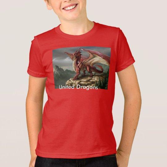 Vereinigte Drachen T-Shirt
