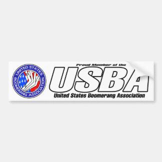 Vereinigte Staaten Boomerang Autoaufkleber