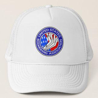 Vereinigte Staaten Boomerang Vereinigungskappe Truckerkappe