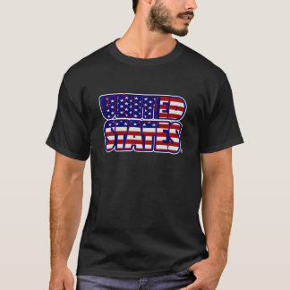 Vereinigte Staaten fassten den T - Shirt der