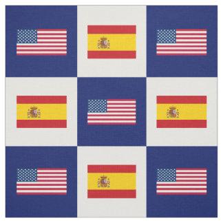 Vereinigte Staaten kennzeichnen, Spanien-Flagge Stoff