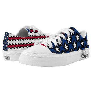 Vereinigte Staaten kennzeichnen USA-Stolz Niedrig-geschnittene Sneaker
