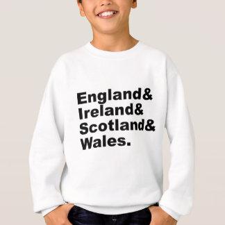 Vereinigtes Königreich   England Irland Schottland Sweatshirt