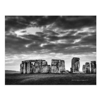 Vereinigtes Königreich, Stonehenge 11 Postkarte
