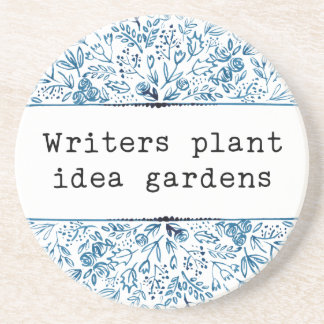 Verfasser-Pflanzen-Ideen-Gärten des Sandstein Untersetzer