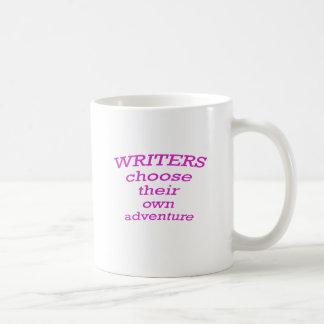 Verfasser wählen ihr eigenes Abenteuer Tasse