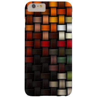 Verflochtener abstrakter Hintergrund Barely There iPhone 6 Plus Hülle