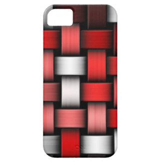 Verflochtener abstrakter Hintergrund iPhone 5 Cover