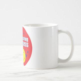 Verfolgung das Glück - rund Kaffeetasse